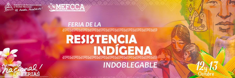 Feria de la Resistencia Indígena e Indoblegable