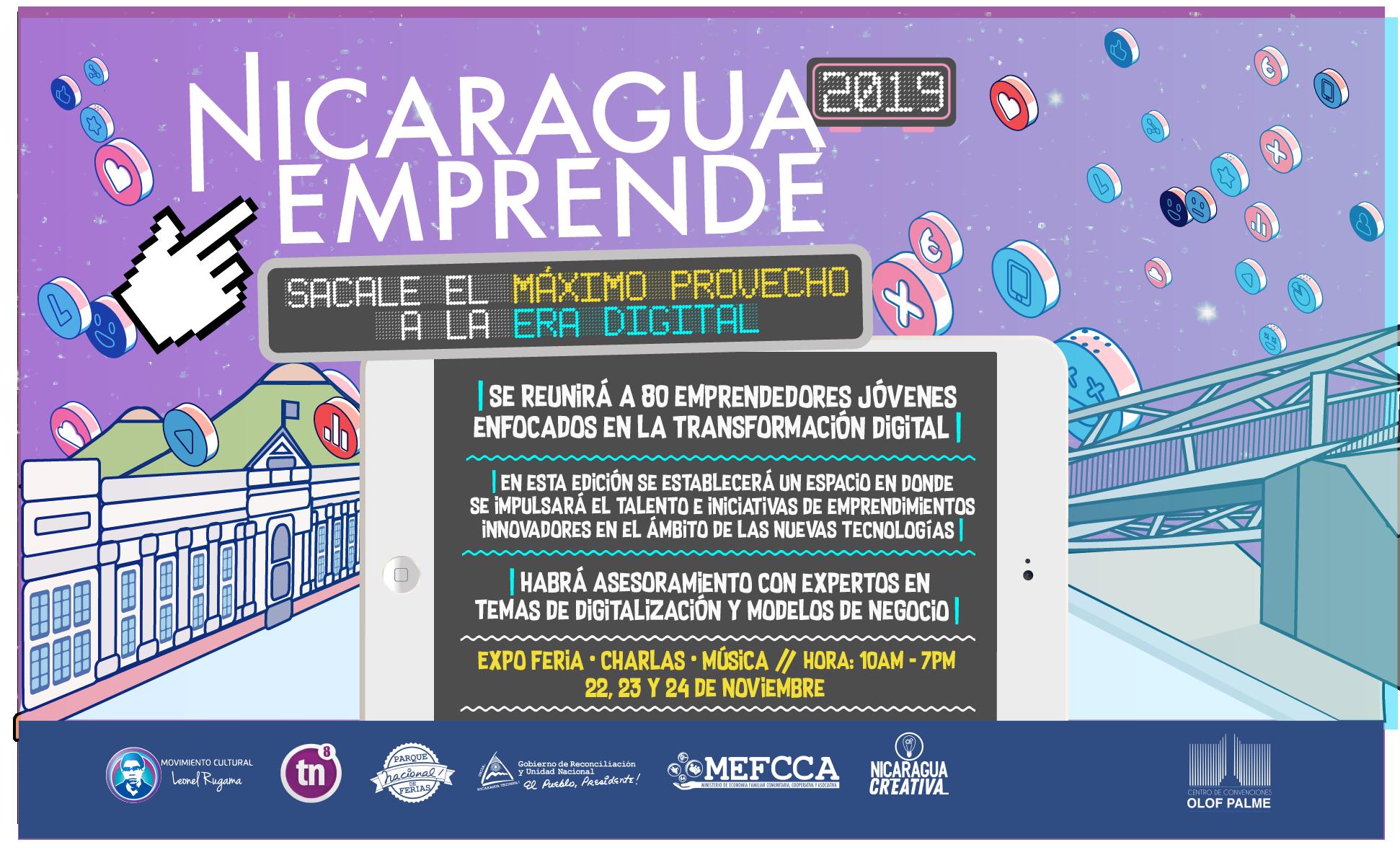 Segunda edición de Nicaragua Emprende 2019