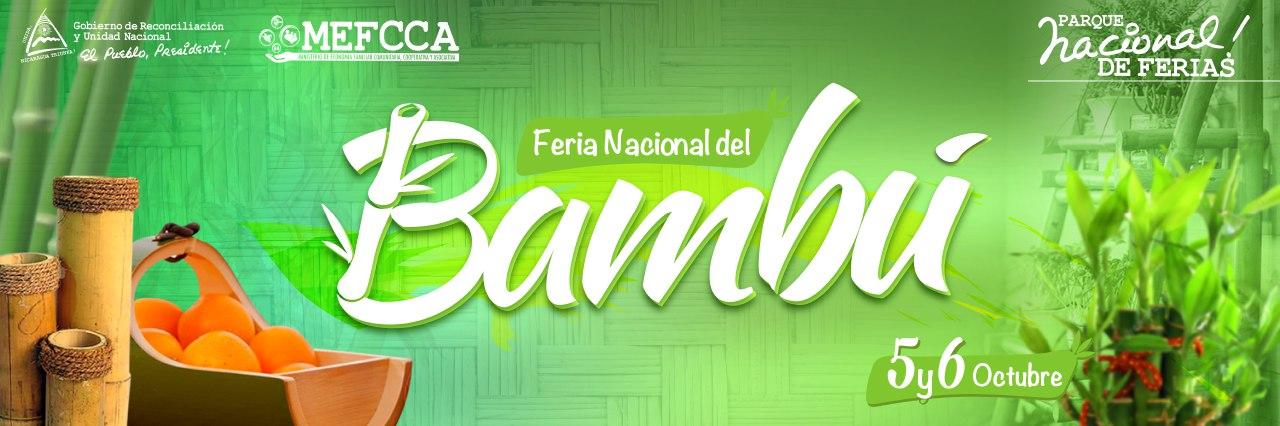 Feria de los Cultivos y las Artesanías de Bambú