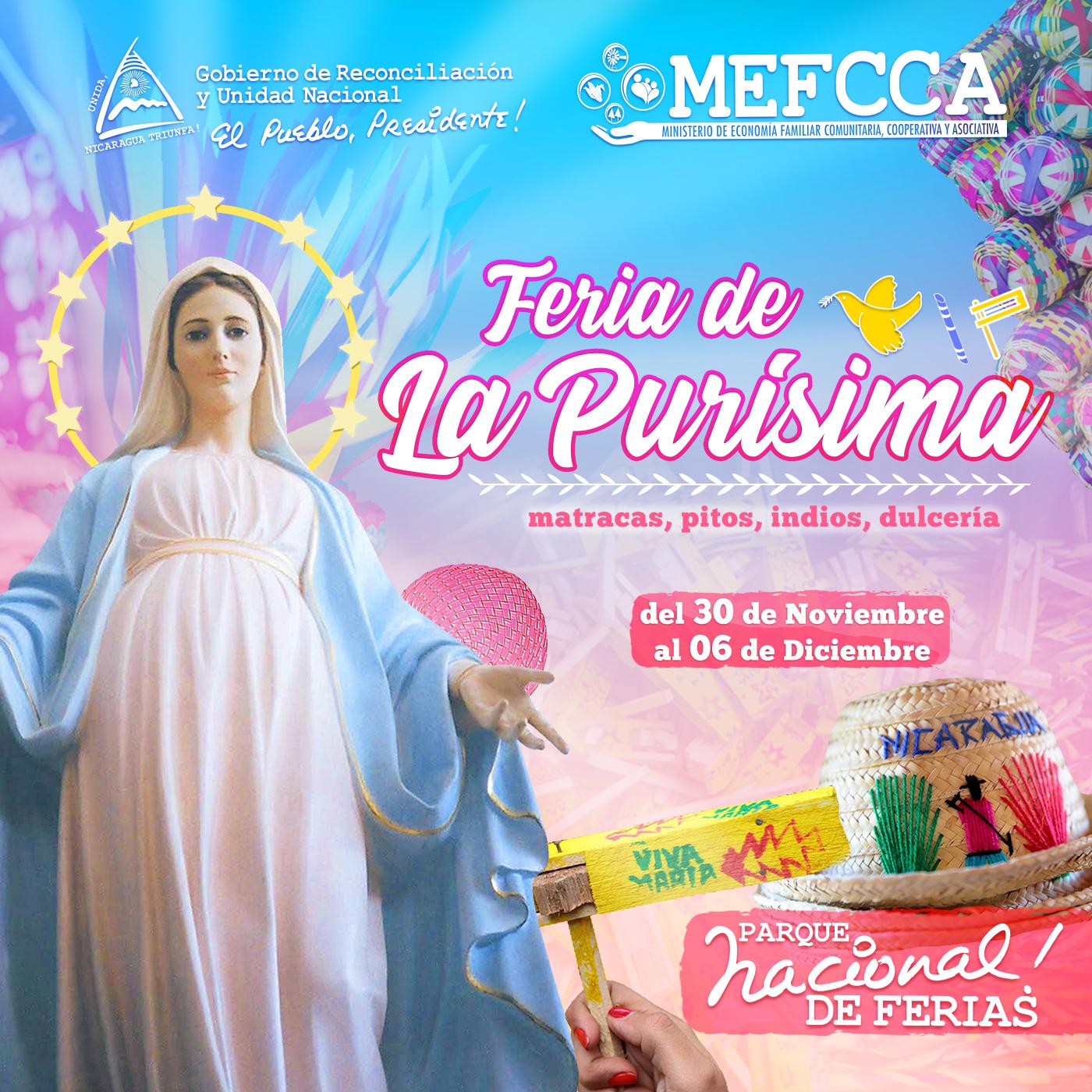 ¡7 días de Feria para celebrar a la Virgen María!