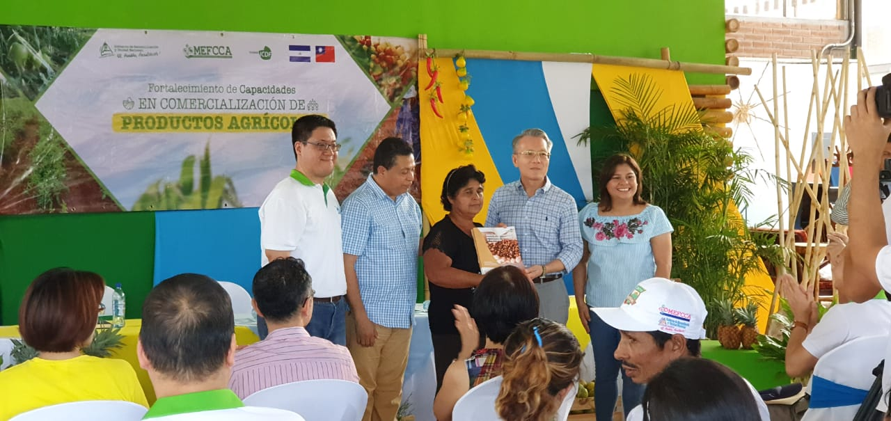 Clausura Proyecto  Fortalecimiento de Capacidades en Comercialización de Productos Agrícolas en Nicaragua