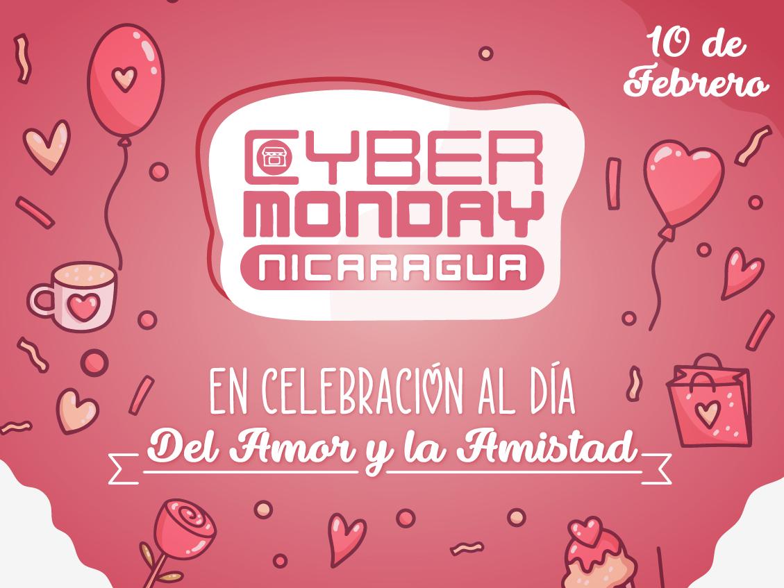 Cyber Monday Nicaragua, regresa con promociones en el mes del Amor y la Amistad