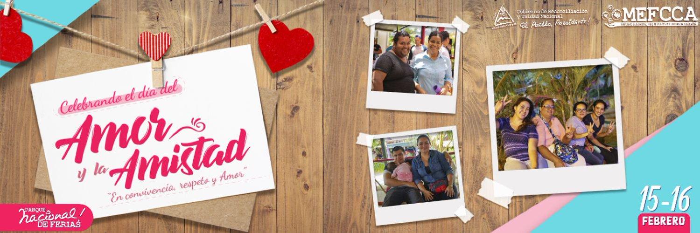 """Feria Celebrando el día del Amor y la Amistad """"En Convivencia, Respeto y Amor""""."""