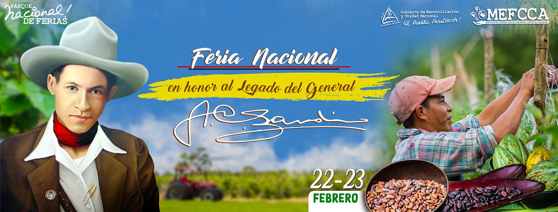 Feria Nacional en honor al Legado del General Sandino