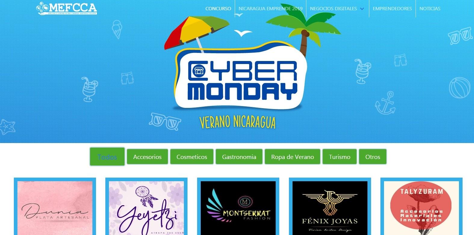 Cyber Monday Nicaragua: ¡Promociones y descuentos en Verano!