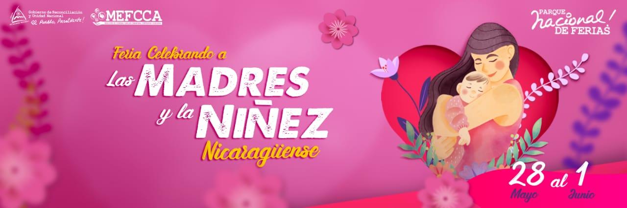 Feria celebrando en victorias de Paz y Cariño a las Madres y Niñez Nicaragüense
