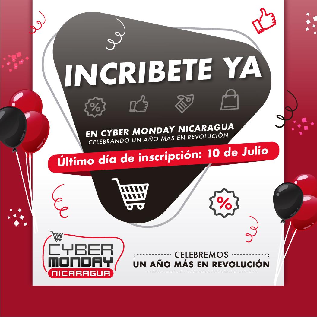 Cyber Monday Nicaragua: Celebra 41 años de Revolución