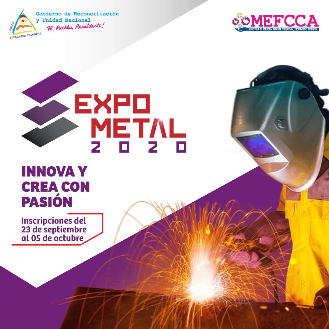 ¡EXPO-METAL, INNOVA Y CREA CON PASIÓN!