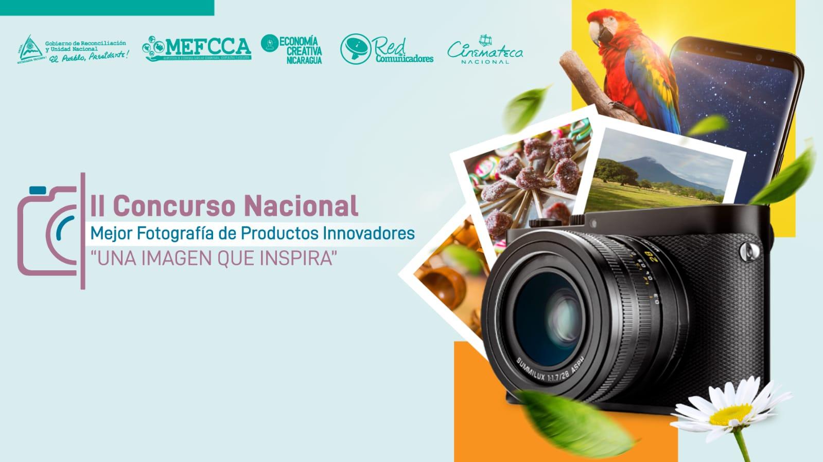 """II Concurso Nacional de la Mejor Fotografía de Productos Innovadores """"Una imagen que inspira"""""""
